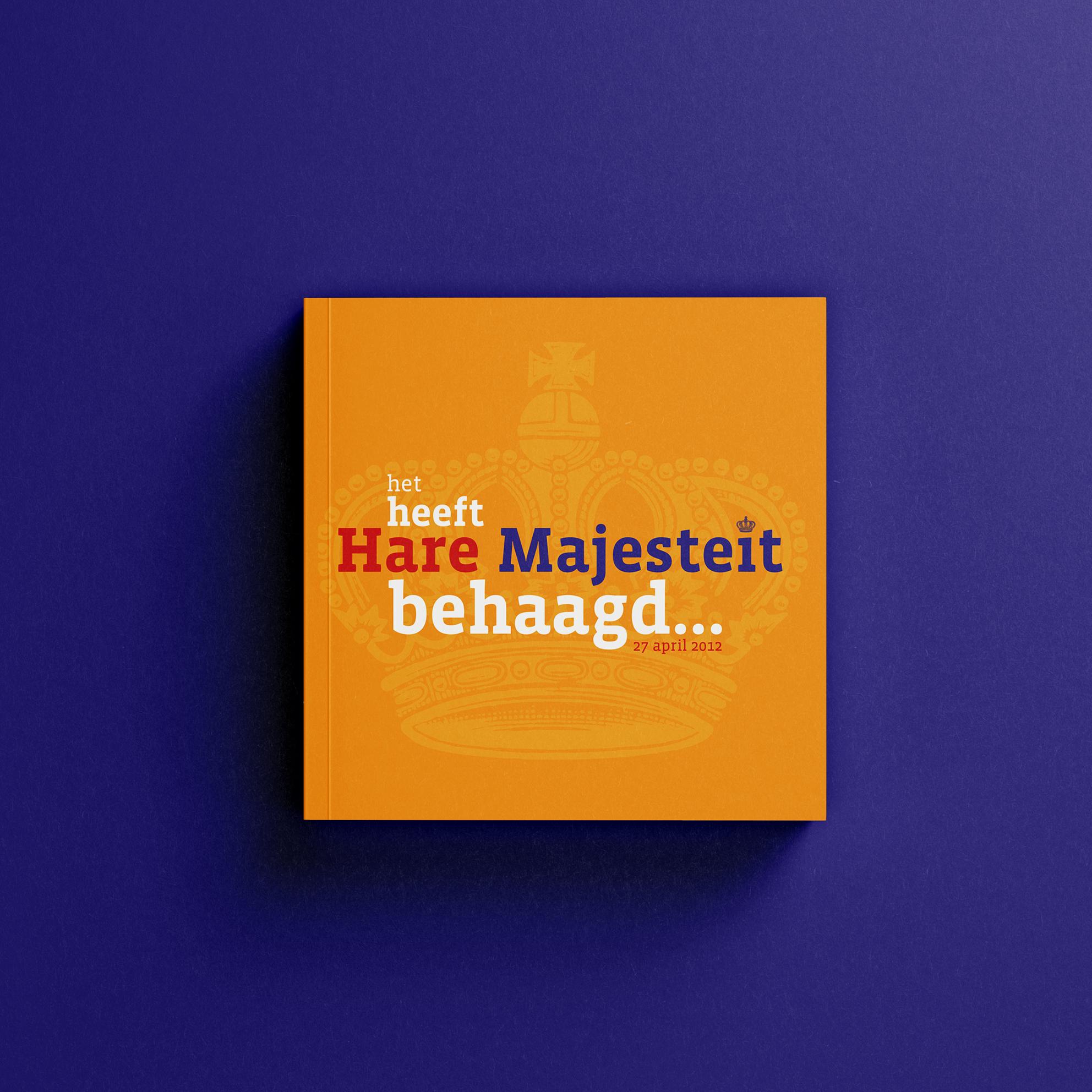Boek 'Het Heeft Hare Majesteit Behaagt'