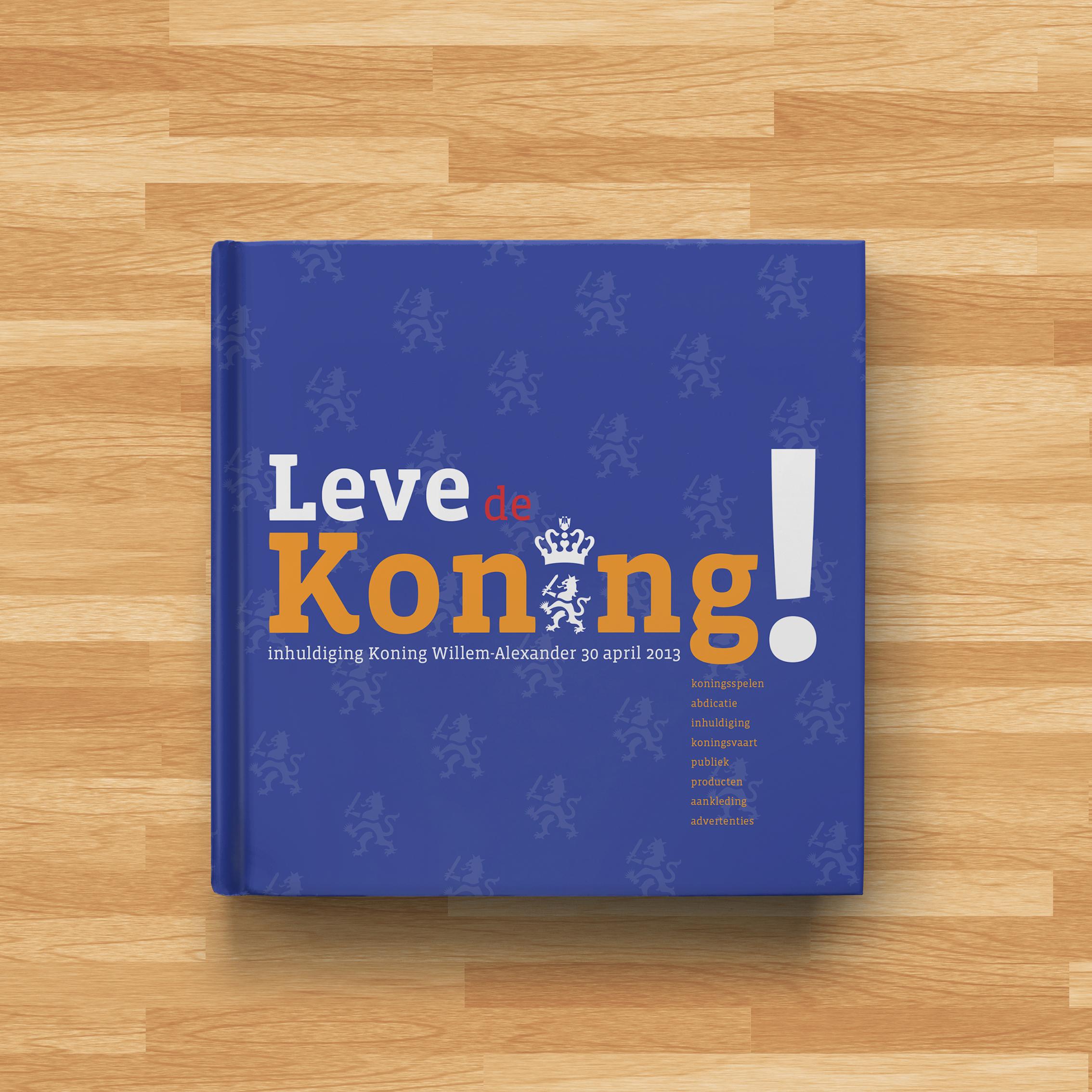 Boek Leve de Koning!